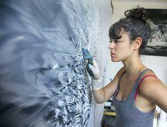 Zaria Forman : Brilliant artist!