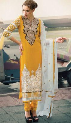 salwarsuit on Pinterest | Salwar Suits, Anarkali and Salwar Kameez