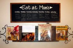 Eat at Mom's by selahcustomsigns on Etsy, $39.00