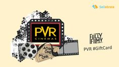 This weekend watch the latest movie or send your loved ones to PVR by giving them a PVR #GiftCard from #SELLEBRATE Shop for physical or e¬cards