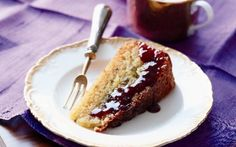 Eric Lanlard's moist, floral-scented cake is the ultimate treat. Flour-free orange and lavender cake