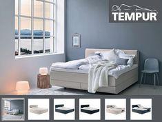 Tempur North boxspring,een slaapsysteem met topper theo bot zwaag hoor