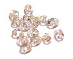 Preciosa Twin Beads Zalm 38292(100) www.beadscreations.nl