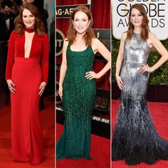 We Love Oscar Nominee Julianne Moore for Taking Risks on the Red Carpet  #InStyle
