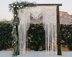 Macrame Wall Hanging Macrame Wedding by worldonlinemart on Etsy