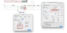 Je kunt in ARCHICAD maatvoering kopiëren door de CTRL (WIN) of Command (MAC) in te drukken. Je kunt ook Multiply gebruiken in combinatie met Spread. Kopiëren naar andere verdiepingen is niet direct mogelijk, maar je kunt de maatvoering op Static zetten en dan kopiëren (let op, het is dan geen associatieve maatvoering meer!)