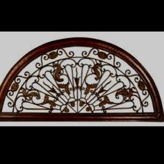 Half Circle Door Topper | Paint White & Sticks Door Topper: Adventure with Peaked Top | Door/Window/Toppers ...