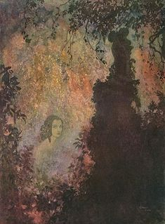 from edmund dulac's illustrations for poe