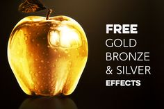 Cool &free Photoshop effects for your objects, shapes or textsfrom PixelMustache. Get gold, bronze or silver effect for your logo or texts in seconds. Moreamazing freebies & items from t...