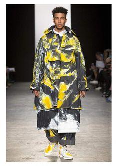Painted Denim. Daniel Mckinley: MA Fashion, University of Westminster.