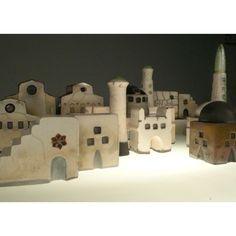 Raku Ceramic Islamic Village Margarita Schwartzel