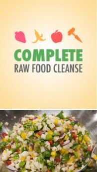 Raw Food Cleanse app for iPhone - includes almost 200 recipes like this one - Jicama Spanish Rice - #raw #cleanse #detox