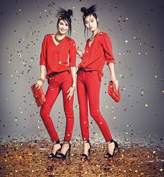 hm china new year2 H&M China Celebrates the New Year with Sui He + Tian Yi