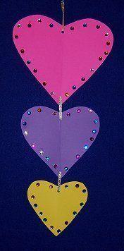 valentine mobile for preschool