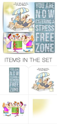 """""""Stress Free Zone"""" by kiki-bi ❤ liked on Polyvore featuring art"""