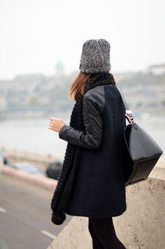 textured black, minimal chic    @sommerswim