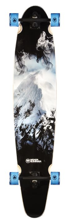 Mountain Longboard Graphics