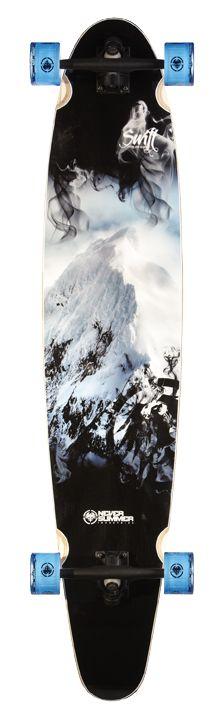 Mountain Longboard Graphics