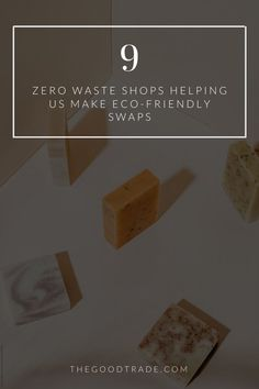 We're ready to make the zero waste pledge with these shops // The Good Trade // #zerowaste #lowwaste #nowaste #packagefree #plasticfree #sustainable #sustainableliving #sustainablelife