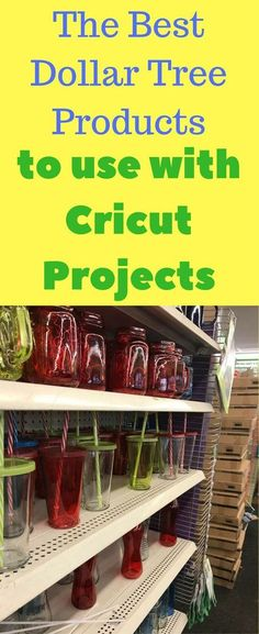 The Dollar Tree is a great resource for your Cricut and Silhouette projects! Cricut Project Ideas / Cricut home Decor / Cricut Designs / Dollar Tree Decorations / Dollar Tree Products / Dollar Tree Crafts / Vinyl Crafts, Diy And Crafts, Best Crafts, Cork Crafts, Wooden Crafts, Creative Crafts, Handmade Crafts, Creative Ideas, Office Inspiration