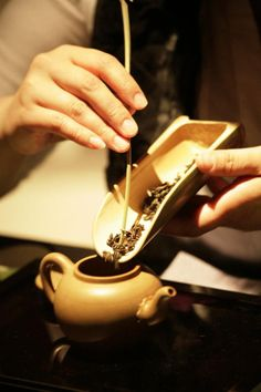 Art of tea 茶芸...The art is in the attention to detail, the awareness of each movement, each spicy and warm scent, the quiet enjoyment of each sip of liquid pleasure rolled about, savored by the taste buds, the quiet companionship shared in the ceremony, the deliberation of the moment...Claire