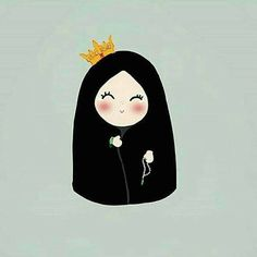 alhalumy girly m hijab images - Hijab Hijab Drawing, Drawing S, Art Drawings, Cartoon Wallpaper, Disney Wallpaper, Emoji, Tout Rose, Islamic Cartoon, Anime Muslim
