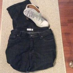 Bundle 📦- 12P Black Bootcut Jeans Riders Bootcut Black Jeans; good condition! ..Bundle suggest. Jeans Boot Cut