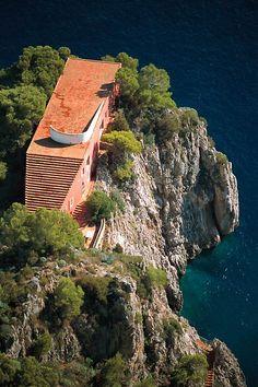 Villa Malaparte Capri Italia
