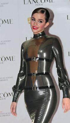 Afbeeldingsresultaten voor Emma Watson See through Latex