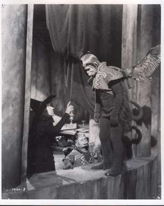 "eatbloganddie:  A lot of rare behind-the-scenes gems from 1939's ""The Wizard of Oz"".  Some of this comes courtesy of billyfergusonoz, who has so much good shit, it's unbelievable! I especially enjoy the shots from the early Richard Thorpe footage (nine days worth) that was scrapped after director Victor Fleming came in and took over (the film had a million directors over the course of shooting, many of them never credited). I really hope someone finds that scrapped Thorpe footage, although…"