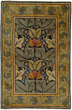 Wykehamis Arts & Craft rug.  The color combination is spectacular.