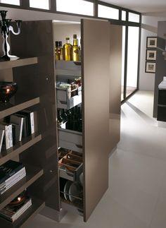 Oltre 1000 idee su design della dispensa cucina su for Disegni della cucina con a piedi in dispensa