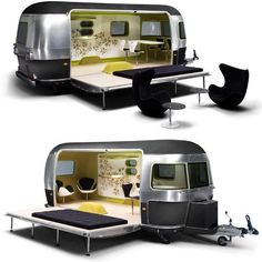 Amazing! MINI Cooper S Clubman Airstream trailer