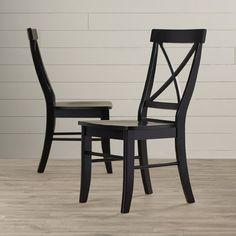 August Grove Sawyer Cross Back Side Chair & Reviews | Wayfair