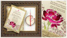 Hand Painted, Watercolor Letterpress Wedding Invitations | Momental Designs – Unique Handmade Wedding Invitations, Custom Invitations by Artist, Kristy Rice
