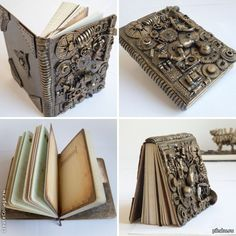 fantastic steampunk notebook