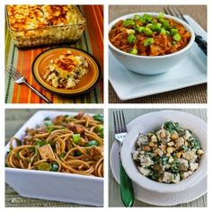 Twenty-Five Tasty Recipes Using Leftover Turkey (or chicken).  These are all recipes I'd happily make with leftover chicken all year round!  [from Kalyn's Kitchen] #ThanksgivingLeftovers  #HealthyThanksgiving