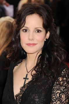 Mary-Louise Parker. Even though she has very dark eyes which you would assume would make her a dark winter, she is a Cool Winter