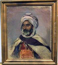 Bruno Hoppe    Arab (Pharyah) Muslim Men, Portrait, Artist, Painting, Headshot Photography, Artists, Painting Art, Portrait Paintings, Paintings