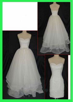 Cheap Hot Selling Tulle Plus Size Wedding Dress With Beading Belt And Detachable Skirt Real Sample Free Measurement
