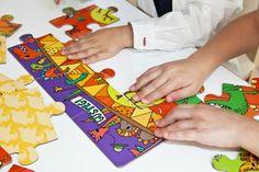 Kids InStyle Blog - Glottogon BIG Puzzle Dino Derby