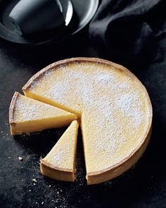 The ultimate lemon tart recipe. Best eaten on the day it is made when the filling still has that freshly baked wobble to it. Serve with nothing more than a generous spoonful of whipped cream.  http://www.penguin.com.au/products/9781921383540/sweet/19281400/lemon-tart