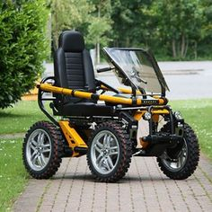 Resultado de imagen para all terrain mobility scooter Electric Bicycle, Electric Cars, E Quad, Scooter Motorcycle, Trike Bicycle, Powered Wheelchair, Terrain Vehicle, Engin, Buggy