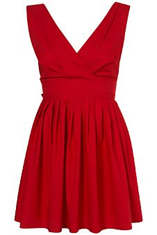 red sundress | 23 Red Dresses That'll Make Your Spring 10 Times More Fun: Fashion ...
