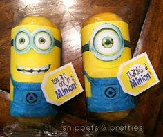 Snippets and Pretties: Thanks a minion