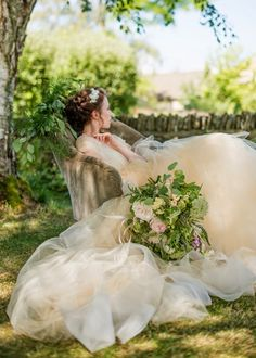 @heartaflutterUK  collaborated on a styled shoot with Louise of b.loved - featured on Ruffled! Features Chaviano Couture dresses stocked at Heart Aflutter Bridal in #Hackney #London.  Photos by Wedding Belles
