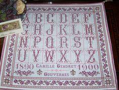 The Drawn Thread gorgeous alphabet for monograms