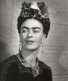 Fotografías originales sobre Frida Kahlo, en una exposición en Portugal - Yahoo Noticias España
