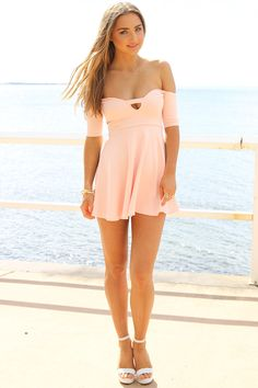 #saboskirt.com            #Skirt                    #SABO #SKIRT #Peach #Audrey #Dress #$48.00          SABO SKIRT Peach Audrey Dress - $48.00                                        http://www.seapai.com/product.aspx?PID=1051714