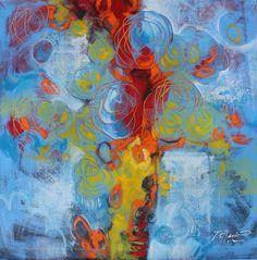 Image+14_35.5x36.jpg (1576×1600) #dominicanart #artecaribeño #edwardtelleria #dragonflowers